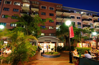 Central Brunswick Apartment Hotel - Coogee Beach Accommodation