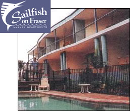 Sailfish On Fraser - Coogee Beach Accommodation