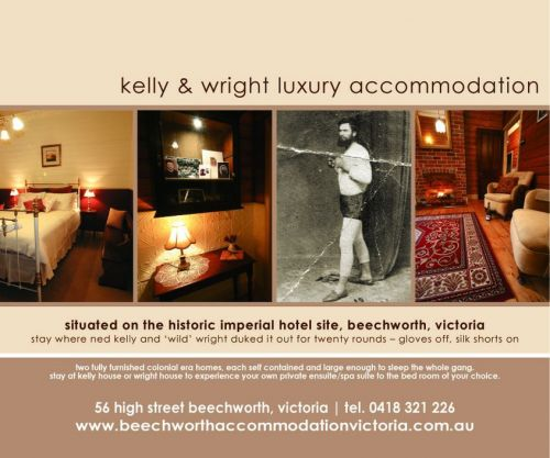 Beechworth Accommodation Victoria - Coogee Beach Accommodation