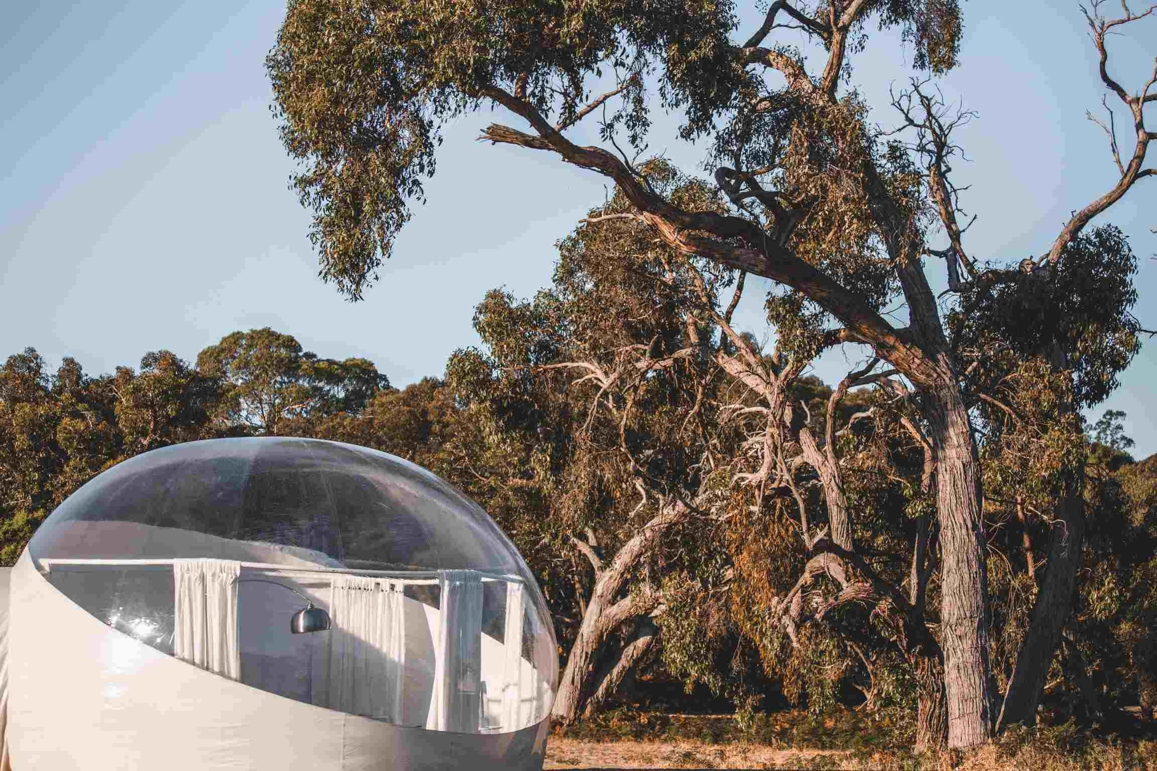 Coonawarra Bubble Tents - Coogee Beach Accommodation