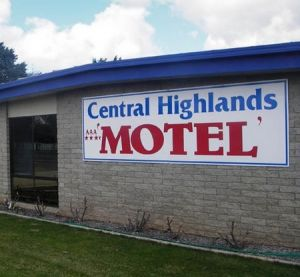 Central Highlands Motor Inn - Coogee Beach Accommodation