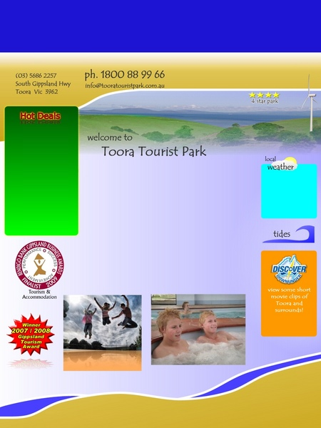 Toora Tourist Park - Coogee Beach Accommodation